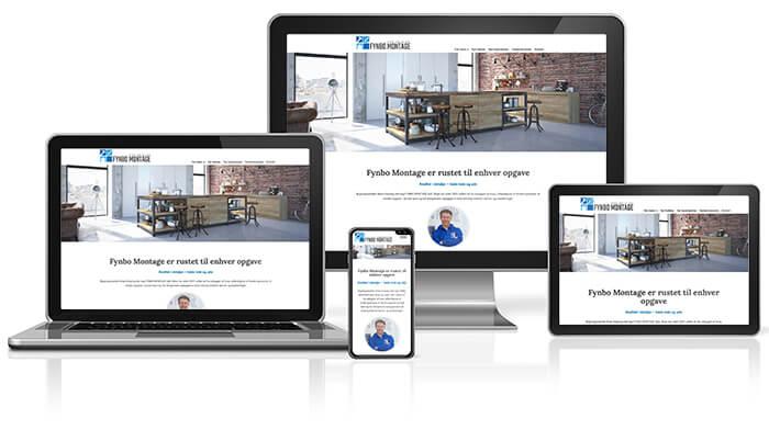 Fynbo Montage responsive webdesign