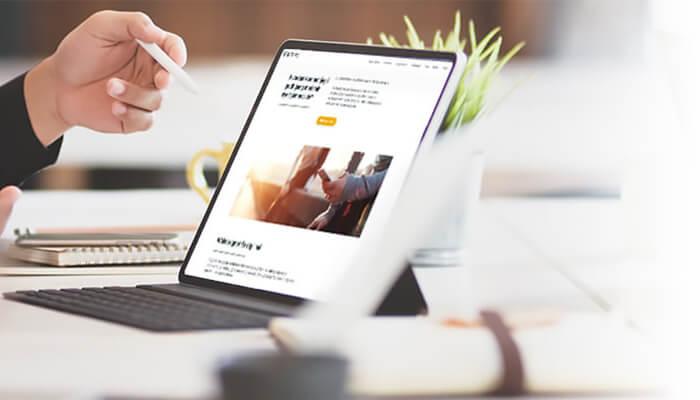 Design af ny hjemmeside